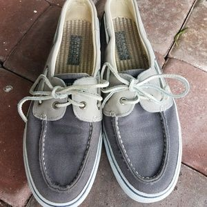 Sperry Topsider Boat/Deck Canvas Shoes Size 9.5